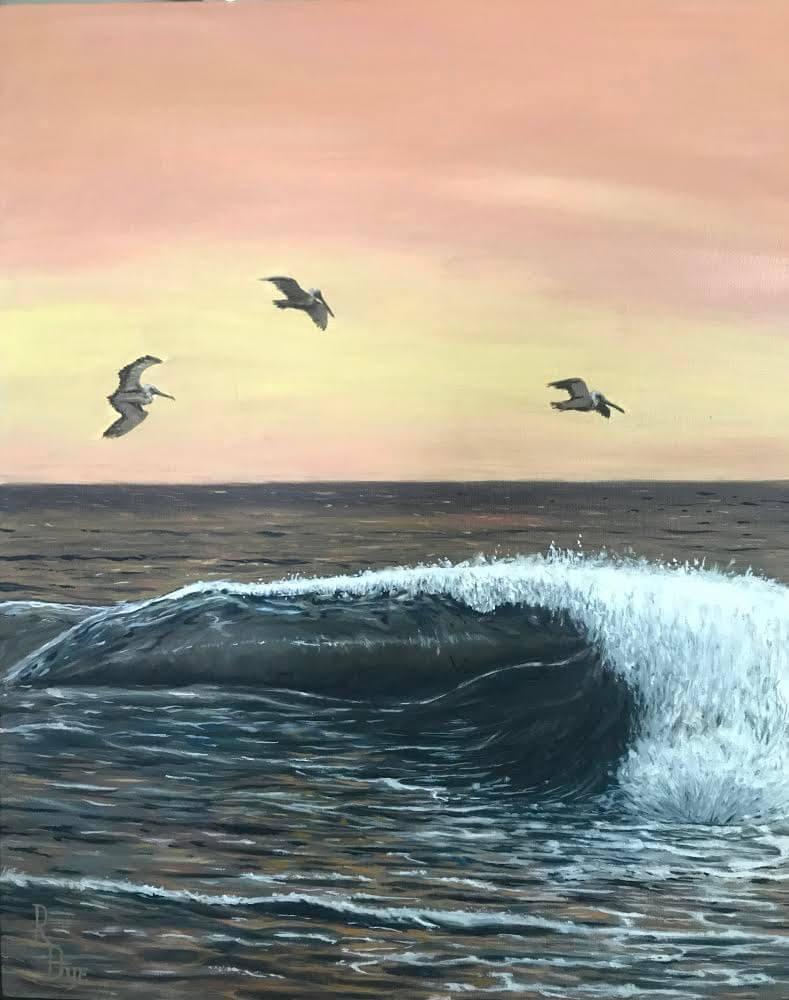Dawn Patrol by Rich Dye