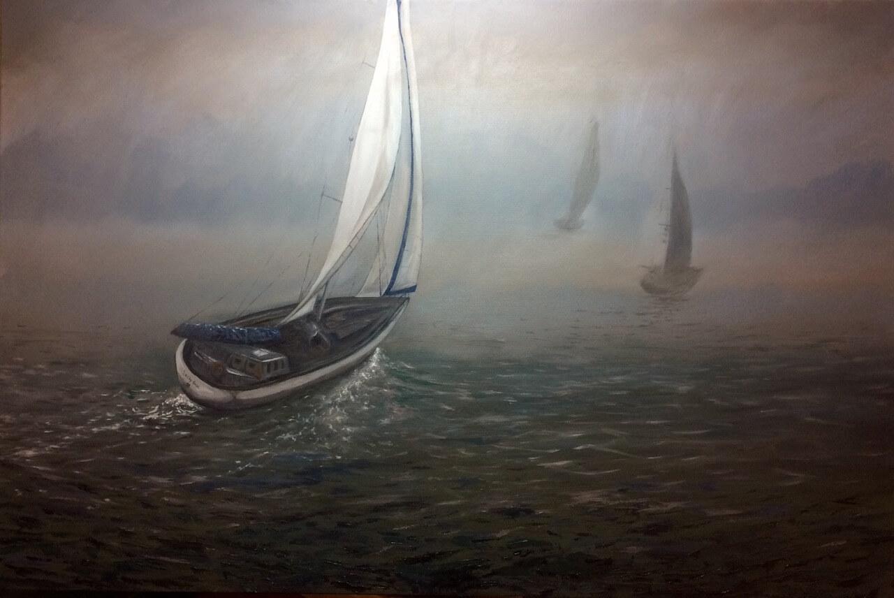 SailboatsinMist